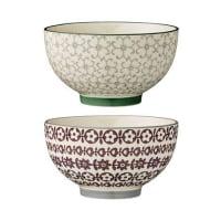 BloomingvilleKarine bowl Ø 13.5 cm 2-pack green-red