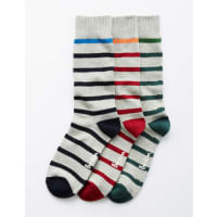 BodenChaussettes à Grosses Mailles Lot Fines Rayures Homme Boden