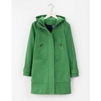 BodenDuffle-coat en Moleskine Vert Profond Femme Boden
