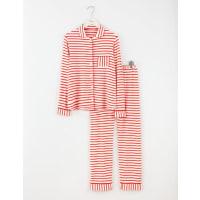 BodenJersey-Pyjama Rot Damen Boden