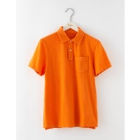 BodenPolo Flammé Orange Homme Boden