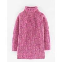 BodenLässiger Pullover mit Rollkragen Pink Damen Boden