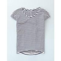 BodenSuperweiches Shirt mit Ziernähten Elfenbeinfarben Damen Boden