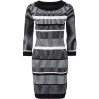 BODYFLIRT boutiqueStrickkleid in schwarz von bonprix