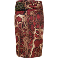 BODYFLIRT boutiqueDames rok in rood - BODYFLIRT boutique