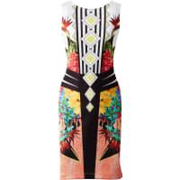 BODYFLIRT boutiqueDames jurk zonder mouwen in oranje - BODYFLIRT boutique
