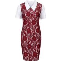 BODYFLIRT boutiqueKanten jurk in rood foor Dames - BODYFLIRT boutique