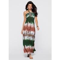 BODYFLIRT boutiqueDames maxi-jurk in groen - BODYFLIRT boutique