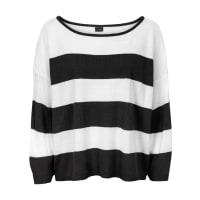 BodyflirtOversize-Pullover in Boxy-Form in schwarz von bonprix