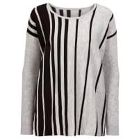 BodyflirtOversize-Pullover in grau von bonprix