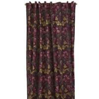Boel & JanAutumn Tulip curtain set with hidden straps burgundy