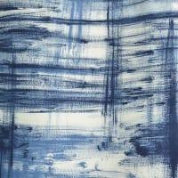 Boel & JanSlitet vaxduk blå