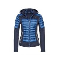 BognerMixed-Combo Sweatjacke DANA für Damen - Navy / Denim Blue