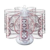 BONNSUMini Centerpiece Table LampRose Love