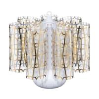 BONNSUMini Centerpiece Table LampGolden Lattice