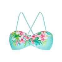 BonprixBandeau bikinitop in blauw foor Dames - RAINBOW