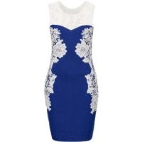BODYFLIRT boutiqueDames kanten jurk in blauw - BODYFLIRT boutique