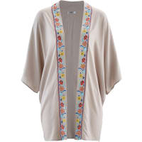 BonprixDames kimono 3/4-mouw in grijs - bpc bonprix collection