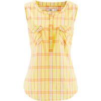 BonprixDames blouse zonder mouwen in geel - bpc bonprix collection