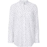 BonprixDames blouse lange mouw in wit - RAINBOW