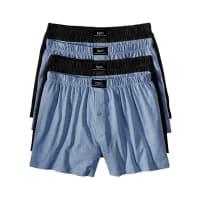 BonprixHeren wijde boxershort (set van 4) in blauw - bpc bonprix collection