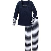 BonprixPyjama in wit foor Dames - bpc collection