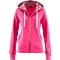 BonprixDames sweatvest lange mouw in pink - bpc bonprix collection
