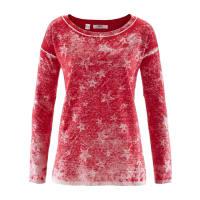 BonprixDames trui lange mouw in rood - bpc bonprix collection