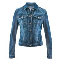 BonprixJeans-Jacke designt von Maite Kelly in blau von bonprix