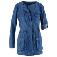 BonprixJackor: Dam Långjacka i jeans i blå lång ärm - bpc selection
