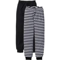 BonprixPantalone in jersey (pacco da 2) (nero) - bpc bonprix collection