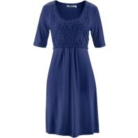BonprixDames jurk halve mouw in blauw - bpc bonprix collection