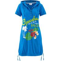 BonprixKlänningar: Dam Strandklänning i blå halv ärm - bpc collection