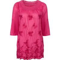 BonprixDames blouseshirt 3/4-mouw in pink - RAINBOW
