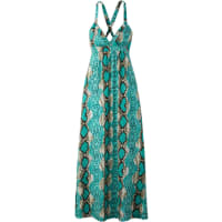 BODYFLIRT boutiqueDames maxi-jurk zonder mouwen in groen - BODYFLIRT boutique