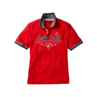 BonprixPoloshirt in rood foor Mannen - bpc collection