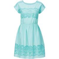 BodyflirtDames jurk korte mouw in groen - BODYFLIRT