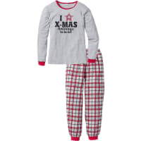 BonprixPyjama in grau von bonprix