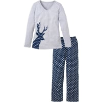 BonprixPyjama in blauw foor Dames - bpc collection