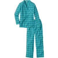 BonprixFlanellen pyjama in grijs foor Dames - bpc collection