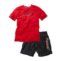 BonprixHeren shorty (2-dlg. set) korte mouw in rood - bpc bonprix collection