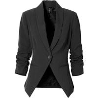 BonprixStretch-Blazer langarm in schwarz von bonprix