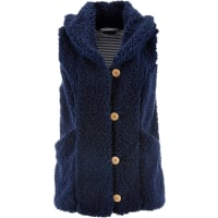 BonprixTeddy-Fleece-Weste in blau von bonprix
