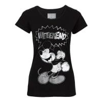 DisneyShirt in zwart foor Dames - Disney