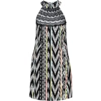 BonprixDames jurk zonder mouwen in zwart - RAINBOW
