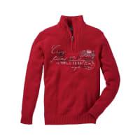BonprixTroyer-Pullover in rot von bonprix