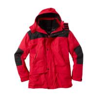 Bonprix3-in-1-Jacke Regular Fit in rot von bonprix