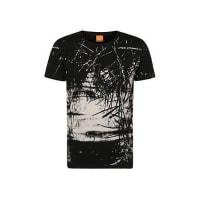 Boss Orange by Hugo BossRelaxed-fit printed t-shirt in cotton: Trueman