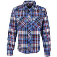 BranditCheckshirt Hemd blau/schwarz/rot