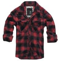 BranditCheckshirt Hemd rot/schwarz